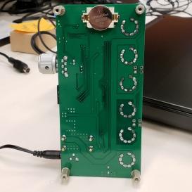 Bottom, RTC backup battery