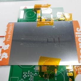 stencil for solder paste application