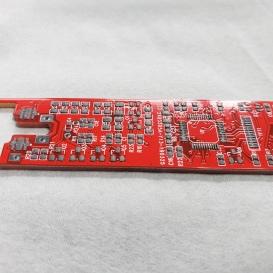 solder paste applied